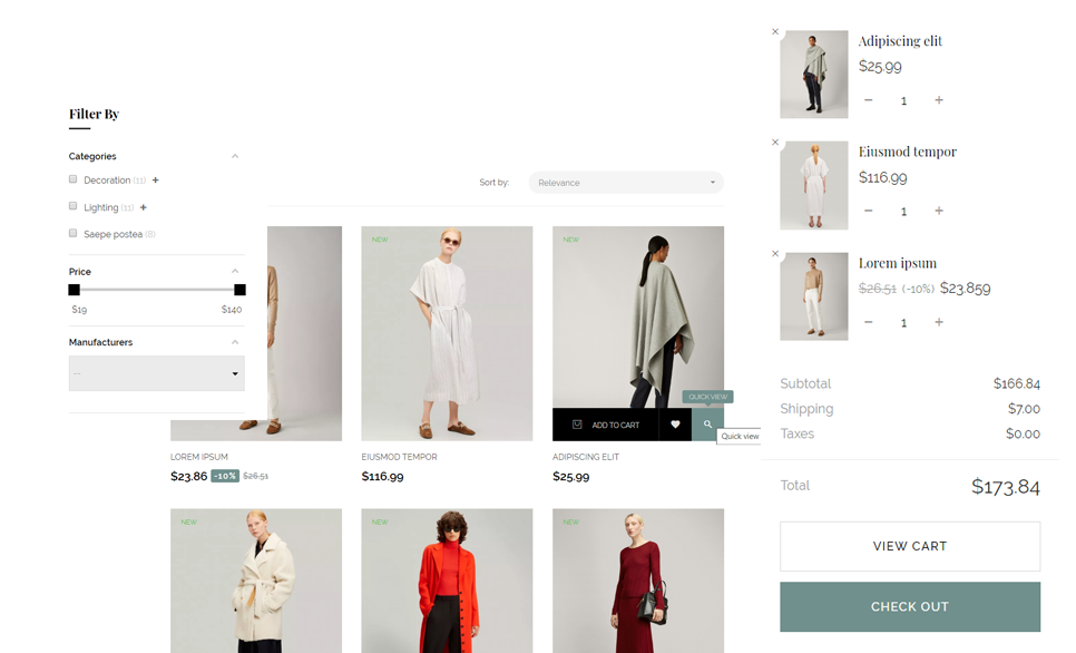 Dio Boutique Fashion Prestashop Theme